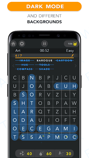 WordFind - Word Search Game apkslow screenshots 5
