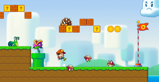 Super Jack's World - Free Run Game apkmartins screenshots 1