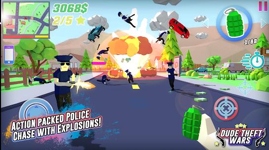 Dude Theft Wars Mod APK (Free Shopping) 2