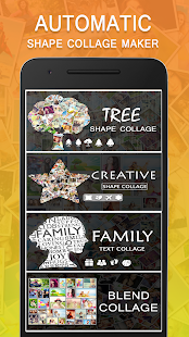 shape collage - automatic photo collage maker hack