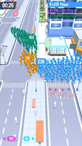 Code Triche Crowd City (Astuce) APK MOD screenshots 1