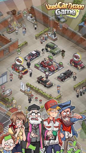 Used Car Tycoon Game Apkfinish screenshots 8
