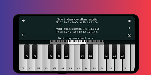 Play Piano: Piano Notes | Keyboard 1.4 screenshots 1