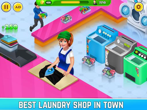 Laundry Shop Clothes Washing Game  screenshots 3