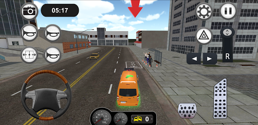 Minibus Bus Transport Driver Simulator apkpoly screenshots 5