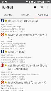 RaMBLE - Bluetooth LE Mapper