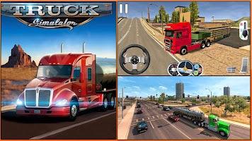 US Heavy Modern Truck: Grand Driving Simulator 3D