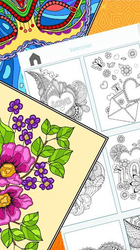 Colorish - free mandala coloring book for adults  screenshots 4