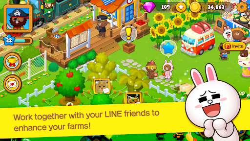 LINE BROWN FARM  screenshots 2