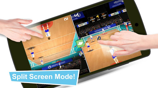 Volleyball Champions 3D - Online Sports Game 7.1 Screenshots 7