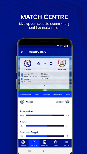 Chelsea FC - The 5th Stand 1.49.0 Screenshots 7
