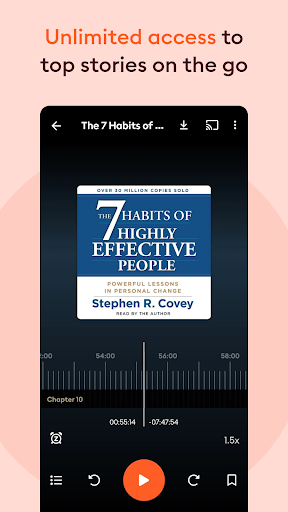 Storytel: Audiobooks & Ebooks  screenshots 10