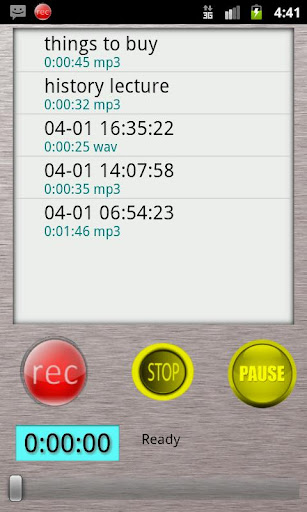 HQ Voice Recorder Lite For PC Windows (7, 8, 10, 10X) & Mac Computer Image Number- 5