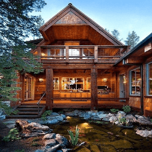Beautiful Wooden House 5