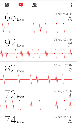 Cardiograph - Heart Rate Meter 4.1.3 Screenshots 6