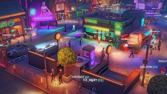 Cyberika: Action Adventure Cyberpunk RPG 5