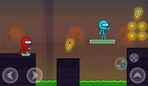 Red and Blue Stickman : Season 2 android2mod screenshots 12