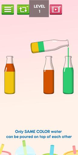 Liquid Sort Puzzle : Water Color Sort 3.0 screenshots 6