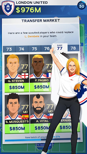 Idle Eleven - Be a millionaire soccer tycoon  screenshots 4