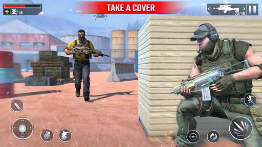 Modern Encounter Strike Commando Mission Game 2020  screenshots 11