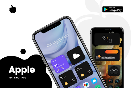 Apple for KWGT APK 2.0 [Paid] Download for Android 7