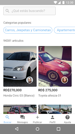 Corotos buy and sell nearby 1.2.0 screenshots 4