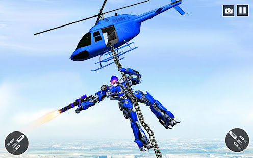 US Police Car Transform Robot War Rescue 2021 1.0.7 Screenshots 9