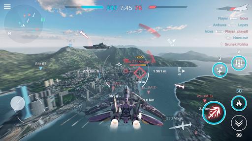 Sky Combat: Avions De Guerre APK MOD (Astuce) screenshots 3