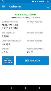 Anchor Watch Pro / Alarm 1