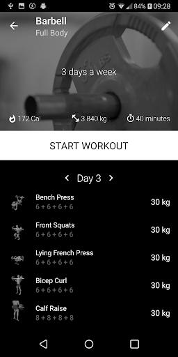 Download APK: Barbell Home Workout v2.05 [PRO][MOD][Proper]