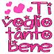 stickers buongiorno e buonanotte & adesivi d'amore