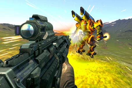 Sniper Super Robot War Z 3D Hack Online [Android & iOS] 3