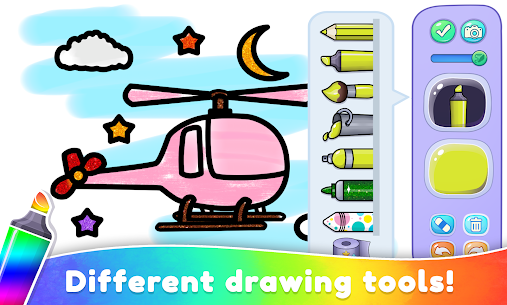 Coloring Book For Kids & Toddlers Drawing Game 2