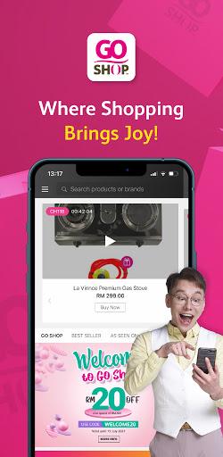 Go Shop - Online Shopping Appu200b 4.4.0 Screenshots 1