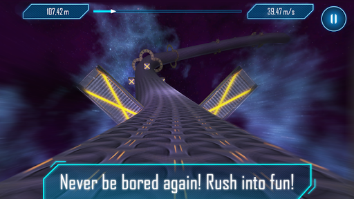 Tunnel Rush Mania - Speed Game apkpoly screenshots 2