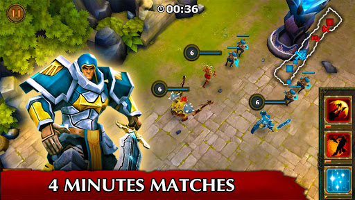 Legendary Heroes MOBA Offline 3.0.72 screenshots 3