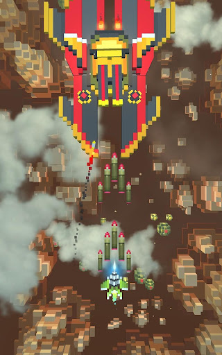 Sky Wings: Pixel Fighter 3D apktram screenshots 15