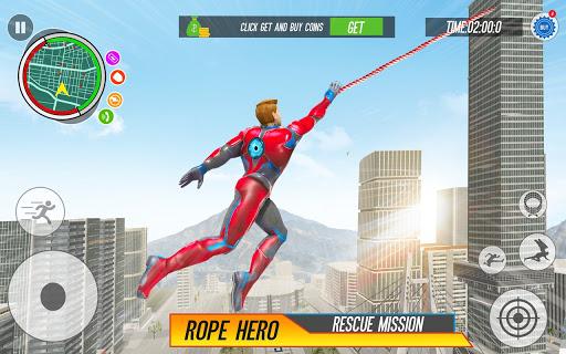 Spider Rope Hero: Vice Town  screenshots 5