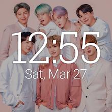BTS Clock Widgets Download on Windows