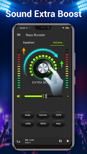 Equalizer -- Bass Booster & Volume EQ &Virtualizer 1.5.3 Screenshots 5