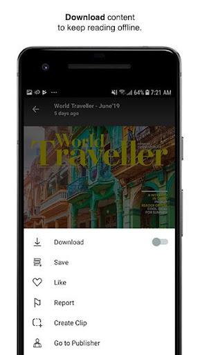 Issuu - u201cCreate & Discover Storiesu201d apktram screenshots 2