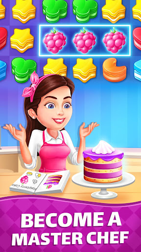Cake Blast 🎂 - Match 3 Puzzle Game 🍰 modiapk screenshots 1