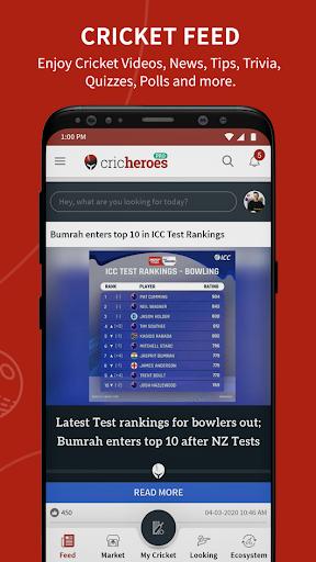 Cricket Scoring App | Live Score - CricHeroes apktram screenshots 4
