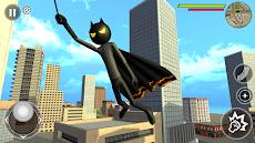 Bat Rope Hero Stickman Crime - Gangster Mafia Gameのおすすめ画像4