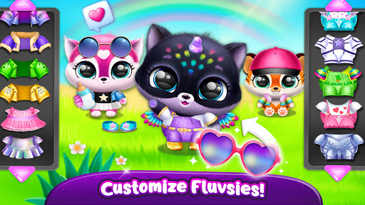Fluvsies Pocket World - Pet Rescue & Care Story apkpoly screenshots 8
