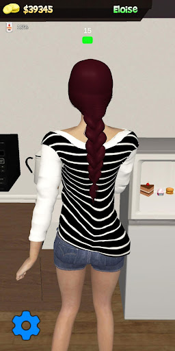 My Virtual Girl at home Pocket Girlfriend Shara 3D apkdebit screenshots 6