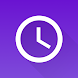 シンプルな時計:目覚まし時計ウィジェット&ストップウォッチタイマー