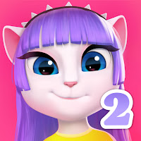 My Talking Angela 2 Unlimited Money v1.2.0 - App Logo