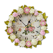 Shabby Chic Clocks Live Wallpaper