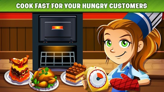 Cooking Dash MOD APK (Unlimited Gold) 3